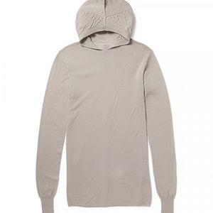 Rick Owens Hoodie Sweater